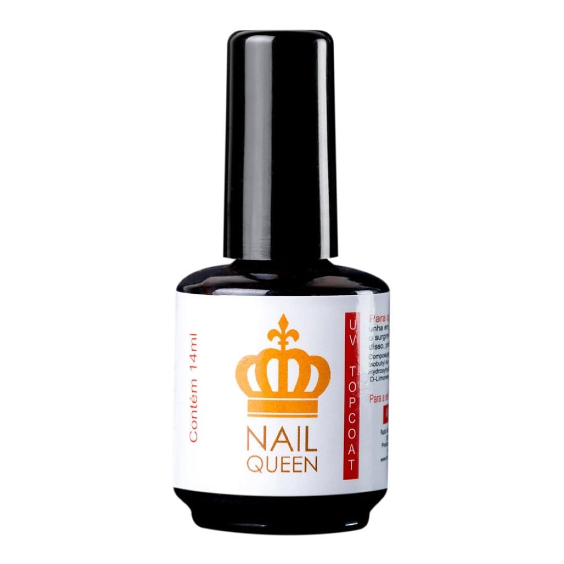 Topcoat UV 14ml - Nail Queen