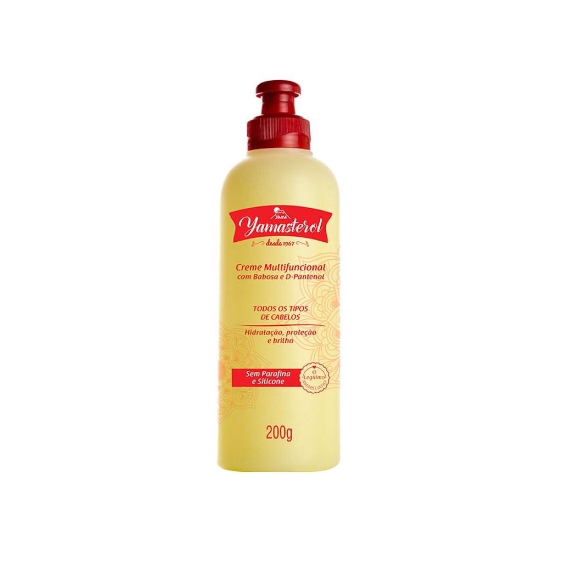 Yamasterol Creme Multifuncional com Babosa e D-Pantenol  200g - Yamá