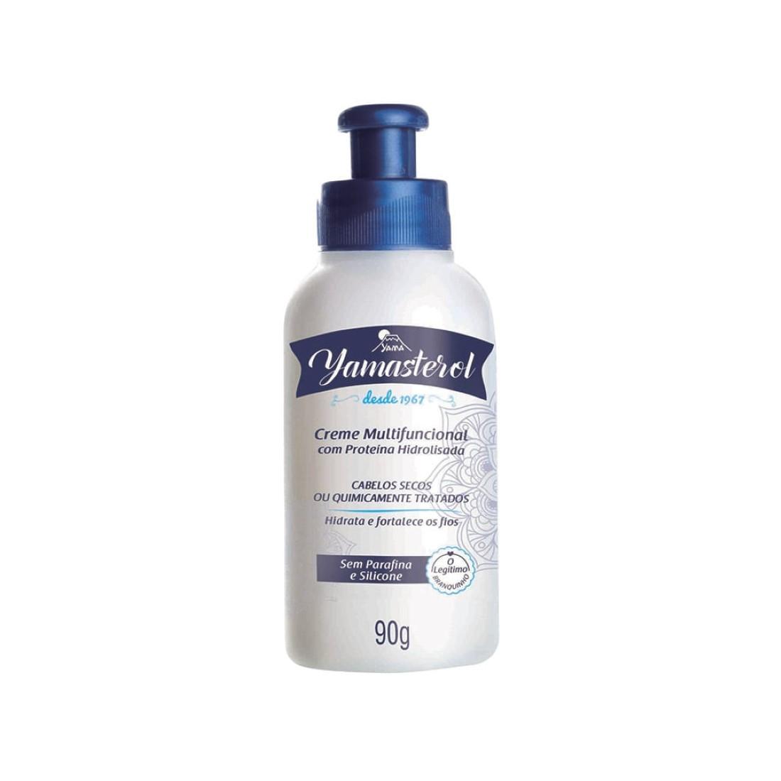 Yamasterol Creme Multifuncional com Proteína Hidrolisada 90g - Yamá