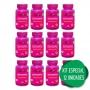 12 Imunocomplex Vitaminas C + D + Zinco p Imunidade 120 Comp
