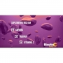 24 Energético Efervescente Vitamina C 1000mg Cafeína Taurina