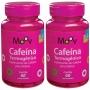 2 Cafeína Termogênico P/ Queimar Gordura E Emagrecer 60 cp