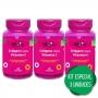 3 Colágeno Hidrolisado + Vitamina C 5,25g Por Porção 60 Cp