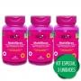 3 FOS Frutooligossacarídeo Prebiótico + Psyllium Ágar Cromo