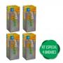 4 Biovita C Zinco Efervescente 1000mg De Vitamina C + Zinco