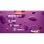 4 Energético Efervescente Vitamina C 1000mg Cafeína Taurina