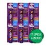 6 Energético Efervescente: Vitamina C 1000mg Cafeína Taurina