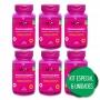 6 Imunocomplex Vitaminas C + D + Zinco p/ Imunidade 120 Comp