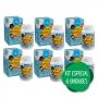 6 Vitamina C Pastilhas Mastigáveis Infantil Muito Saborosas