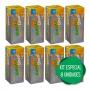 8 Biovita C Zinco Efervescente 1000mg De Vitamina C + Zinco