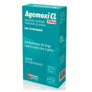 Antibiótico Agemoxi CL 250 mg - 10 comprimidos