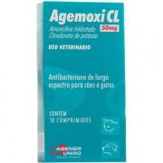 Antibiótico Agemoxi CL 50mg - 10 comprimidos