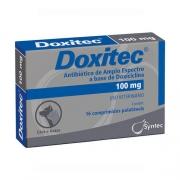 Antibiótico Doxitec Syntec 100 mg - 16 comprimidos