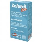 Antibiótico Otológico Zelotril Cães