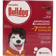 Coleira Antipulgas e Carrapatos Coveli Bulldog 7 para Cães