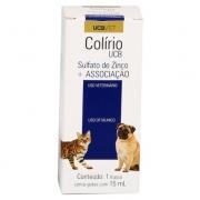 Colírio UCBVET para Cães e Gatos - 15 ml