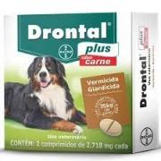 Drontal Plus Bayer para Cães até 35 Kg