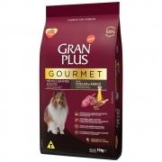 Ração Gran Plus Gourmet Cães Adultos Médio E Grande Ovelha E Arroz 3Kg