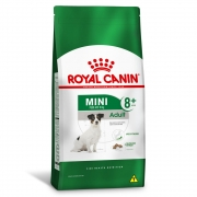 Ração Royal Canin Adult - Cães Mini Adulto 8+
