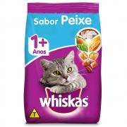 Ração Whiskas Gatos 1+ Sabor Peixe - 3 Kg