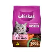 Ração Whiskas Gatos Sabor Salmão