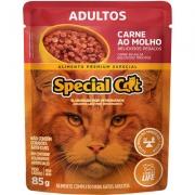 Sachê Special Cat Adulto Sabor Carne ao Molho