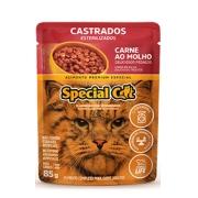 Sachê Special Cat Castrados Sabor Carne ao Molho
