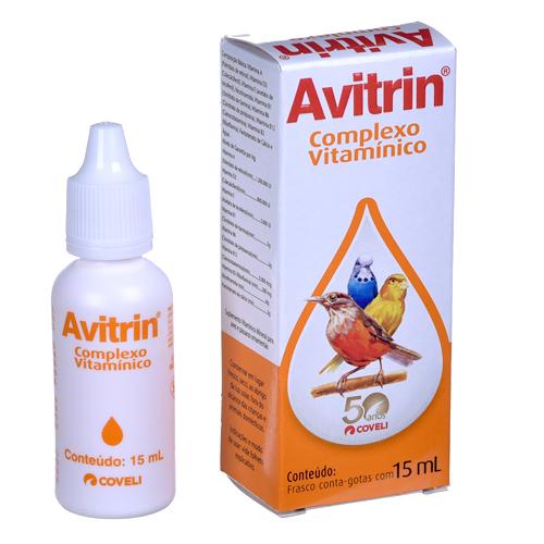 Avitrin Complexo Vitamínico - 15 ml