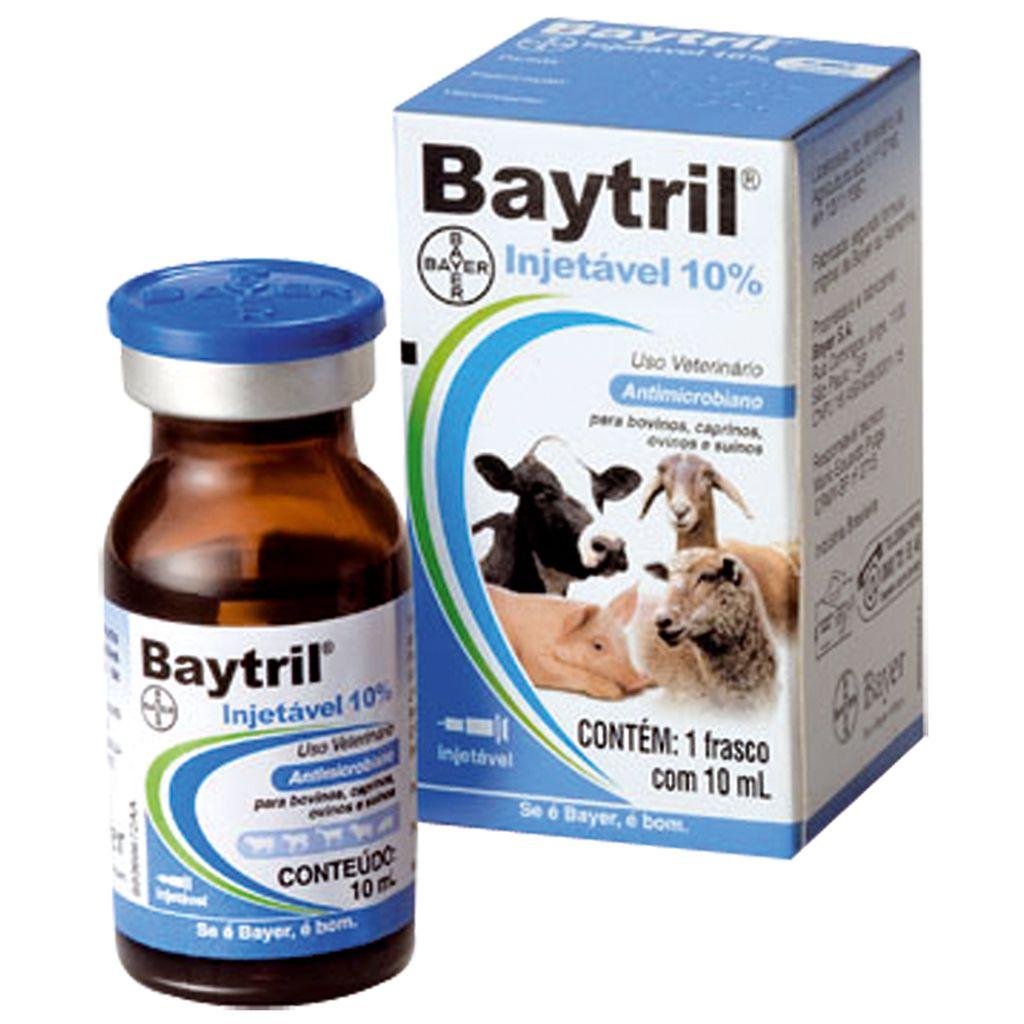 Baytril Injetável 10%