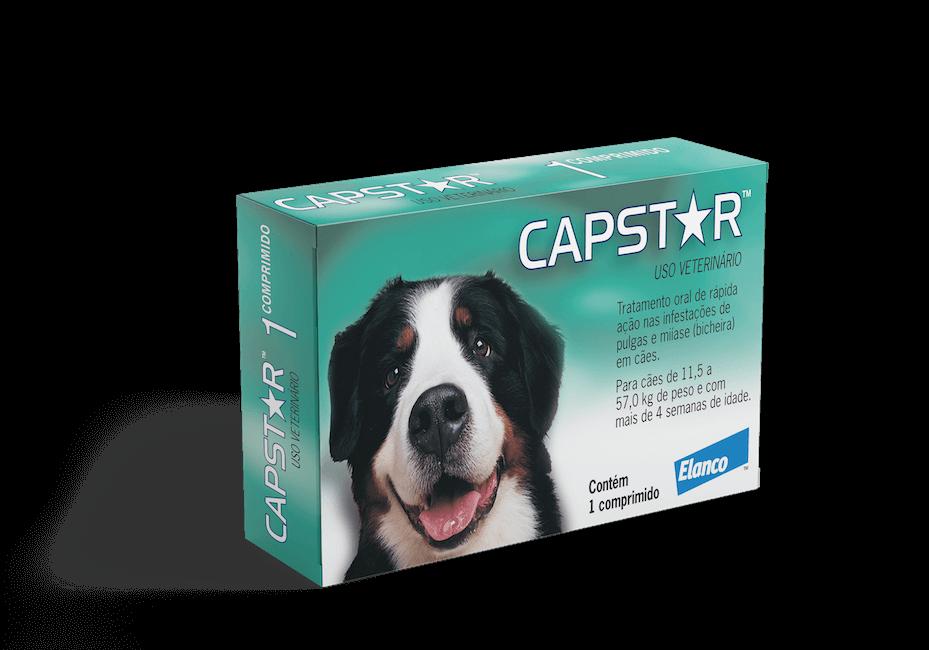 Capstar - AntiPulgas para Cães - 1 comprimido - 11,5 a 57 kg