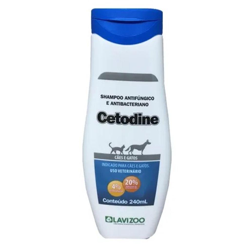 Cetodine shampoo 125 ml