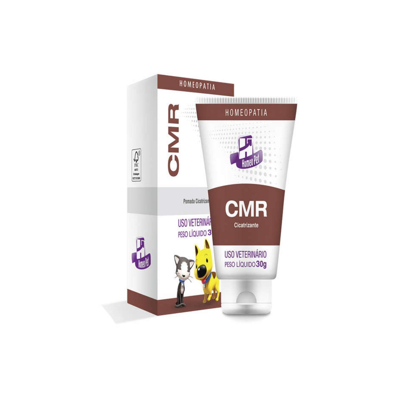 CMR Pomada Cicatrizante 30g Homeopatia Cães/ Gatos