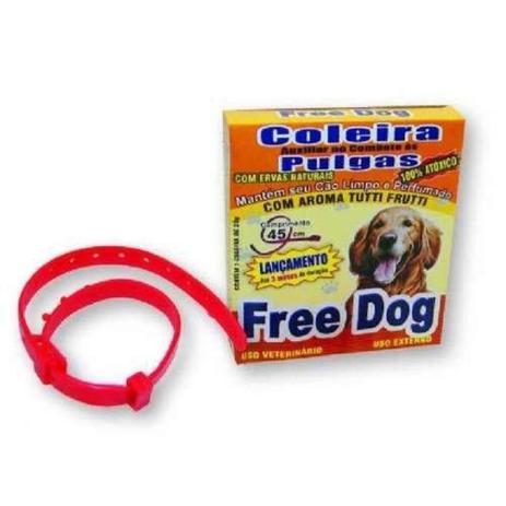 Coleira Antipulgas Free Dog para Cães Adultos - 45 cm - Ferplast