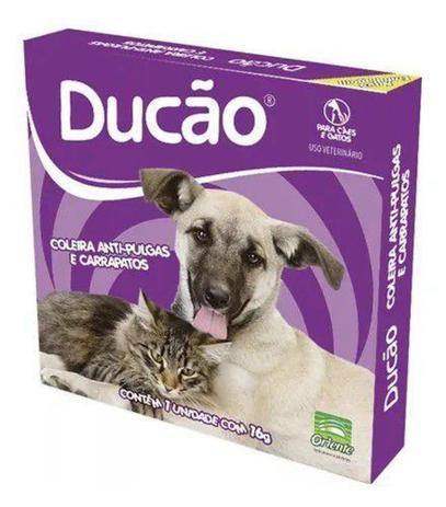 Coleiras Ducão Anti Pulgas E Carrapatos Para Cães e Gatos