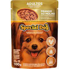 Sachê Special Dog Adulto Raças Pequenas Sabor Frango ao Molho