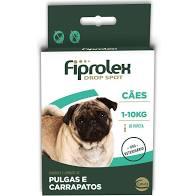 Fiprolex Drop Spot para Cães até 10 kg
