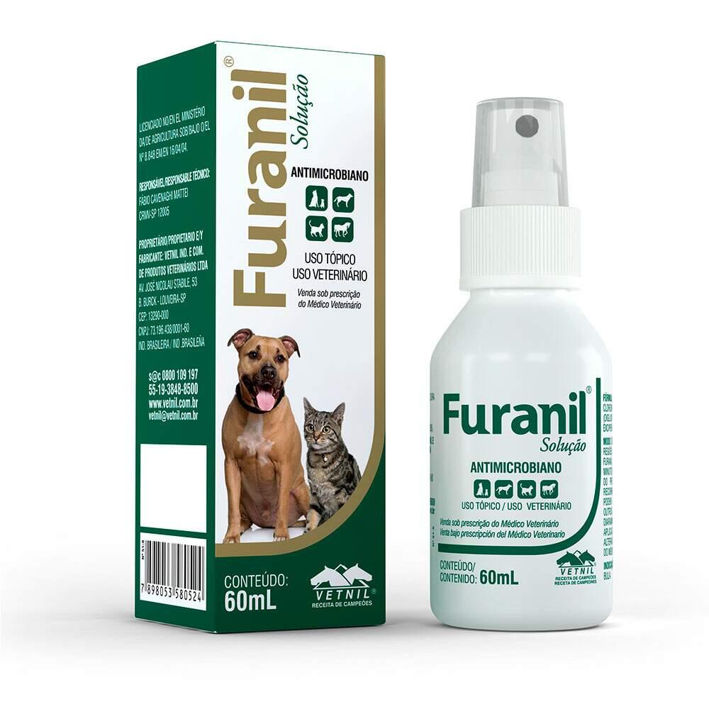Furanil Solução Antimicrobiano - 60ML