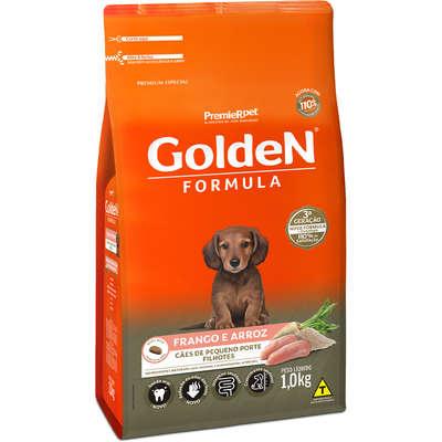 Golden Premier Frango e Arroz para Cães Filhote Pequeno Porte 1Kg