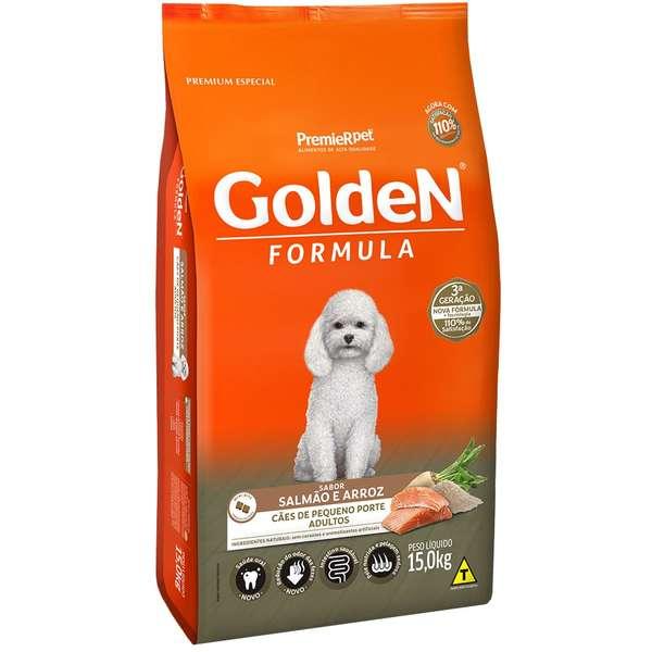 Golden Premier Salmão para Cães Adultos Pequeno Porte