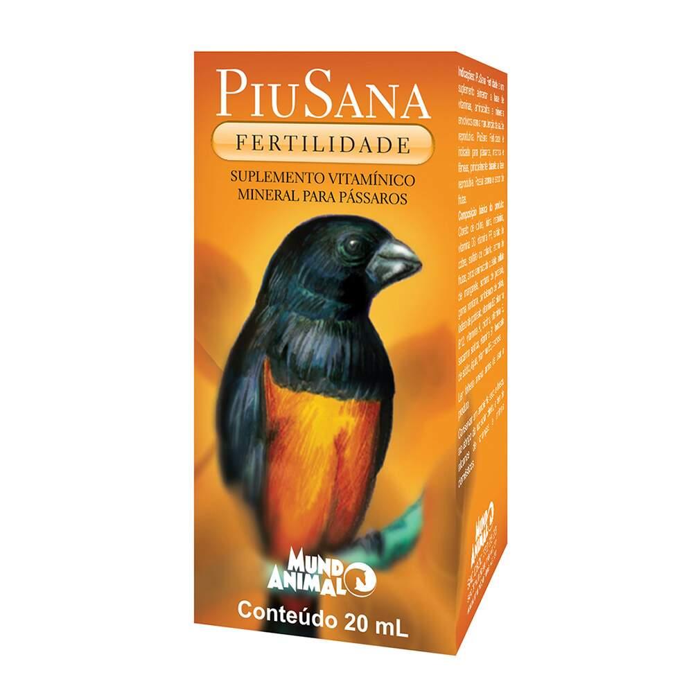 PiuSana Mundo Animal Fertilidade - 20ml