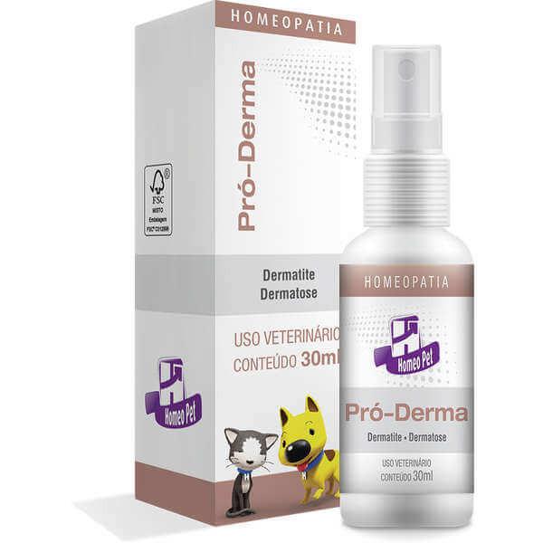 Pró-Derma Spray Homeopático Homeo Pet 30 ml