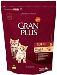 Ração Gran Plus Para Gatos Filhote Frango e Arroz 1Kg