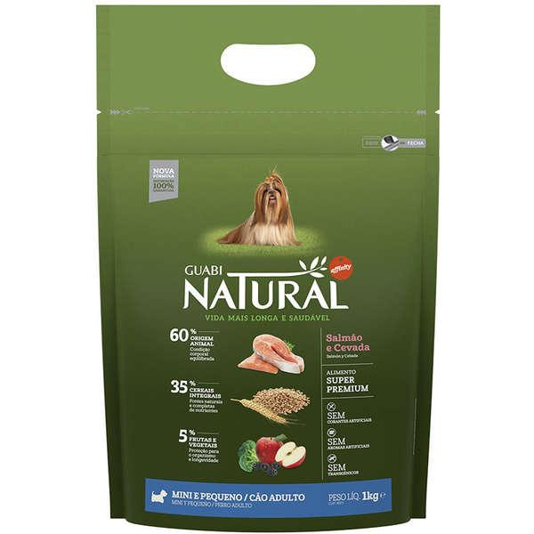 Ração Guabi Natural Frango e Arroz Integral para Cães Adultos Raças Mini e Pequena 1Kg
