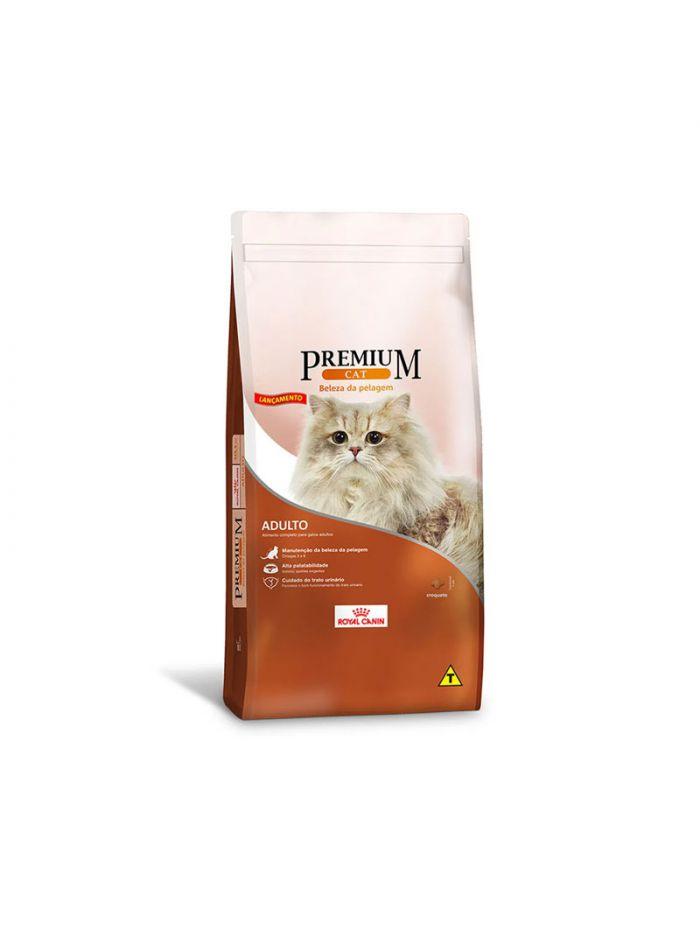 Ração Royal Canin Premium Cat Bela Pelagem Adulto 1 Kg