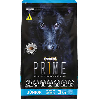 Ração Special Dog Prime para Cães Júnior 3 Kg