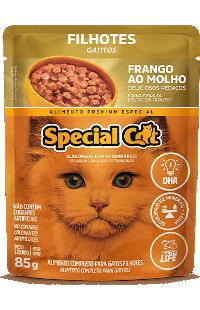 Sachê Special Cat Filhotes Sabor Frango ao Molho