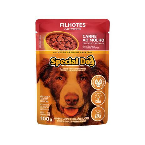 Sachê Special Dog Filhotes Sabor Carne ao Molho