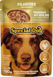 Sachê Special Dog Filhotes Sabor Frango ao Molho