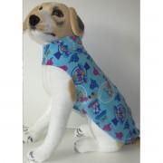 Roupa para Cães - Azul Divertido