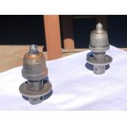 Bits para fresamento de asfalto e valetadeiras com haste de 20 mm e diâmetro de 34 mm referência RTR3F19S